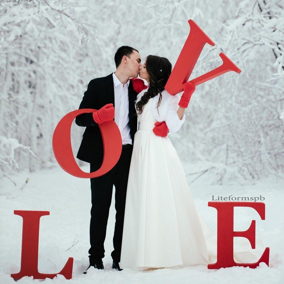 love буквы из пенопласта на свадьбу в спб