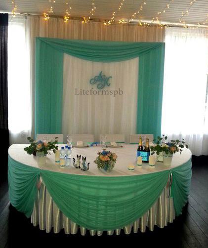 свадебный декор из пенопласта от liteformspb