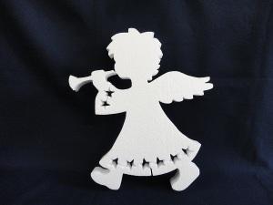 ангел из пенопласта