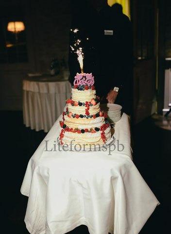 топер в свадебный торт из пенопласта