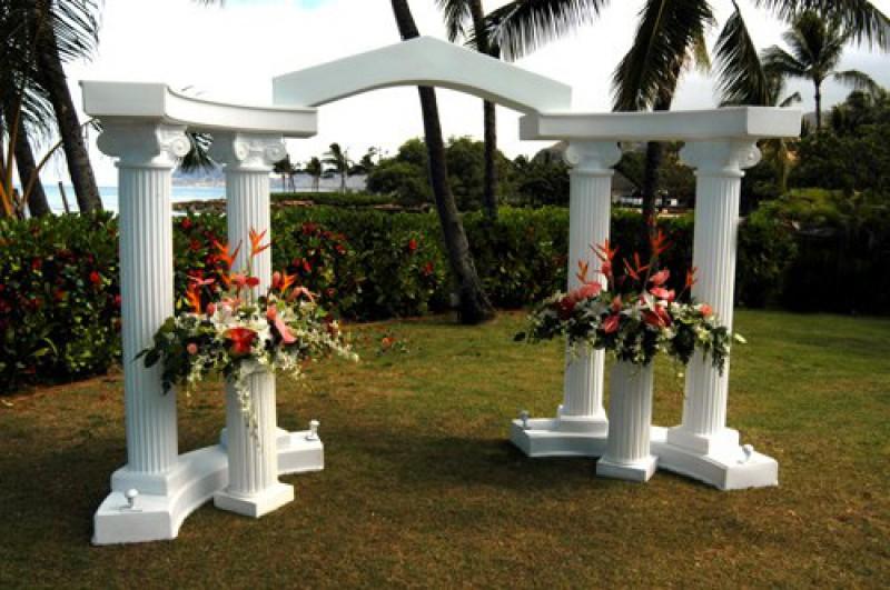 пенопластовые декорации для свадьбы